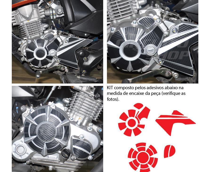 Adesivo De Bailarina ~ Adesivo Tuning Carbon Motor Moto Yamaha Fazer 150 Frete Free R$ 69,90 em Mercado Livre