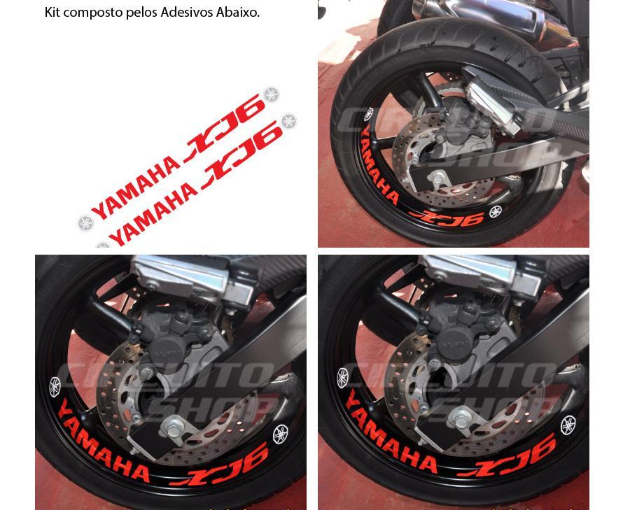 Patricia Valença Artesanato ~ Comprar Kit Adesivo Refletivo Roda Moto Yamaha Xj6 Large Mod Xj6 Apenas R$ 52,90 Aprender