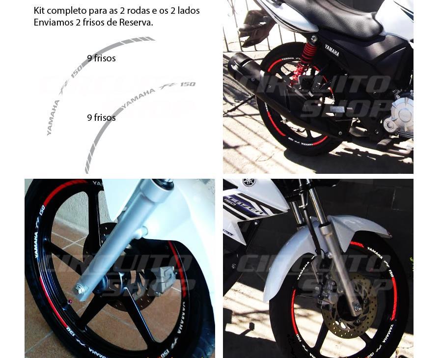 Aparador Y Vitrina Clasico ~ Comprar Friso Adesivo Refletivo Roda Moto Rec01 Yamaha Ys Fazer 150 Apenas R$ 64,90 Aprender